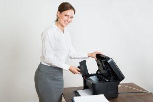 מדפסת לייזר לעסק