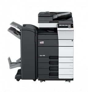 מדפסת משולבת צבעונית A3 INEO 458E