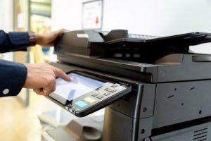 מדפסת עם צג דיגיטלי